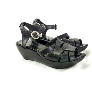 Robert Clergerie Women 6M Platform Sandals 244-8